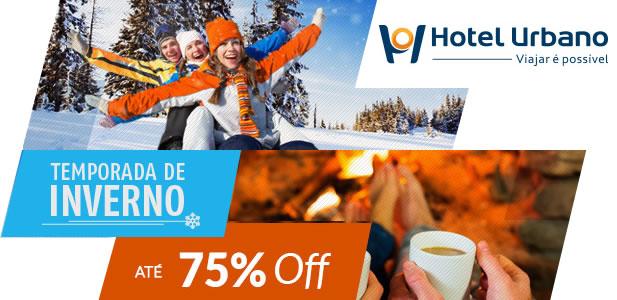 Temporada de Inverno com até 75% no Hotel Urbano
