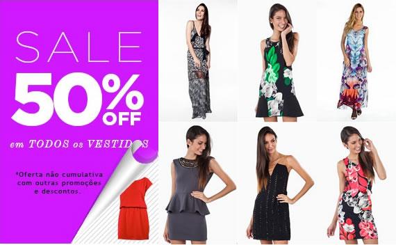 Olook: 50% de desconto em todos os vestidos