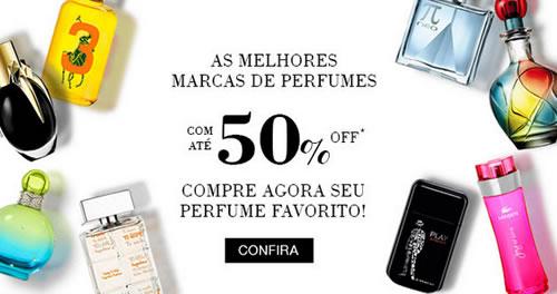 Até 50% de desconto em Perfumes na Renner