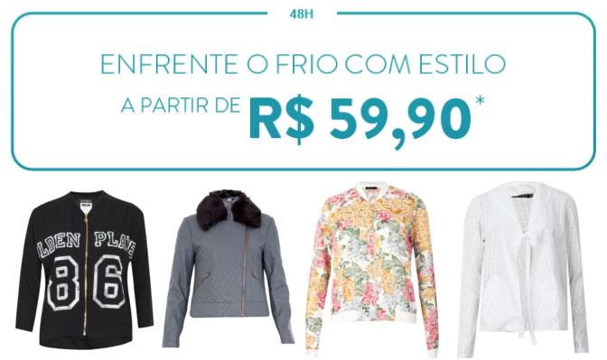 Casacos & Jaquetas a partir de R$ 59,90 na Dafiti