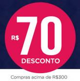 Último dia: Cupons de desconto de até R$ 70 na Passarela