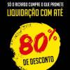 Ricardo Eletro: Liquidação com até 80% de desconto