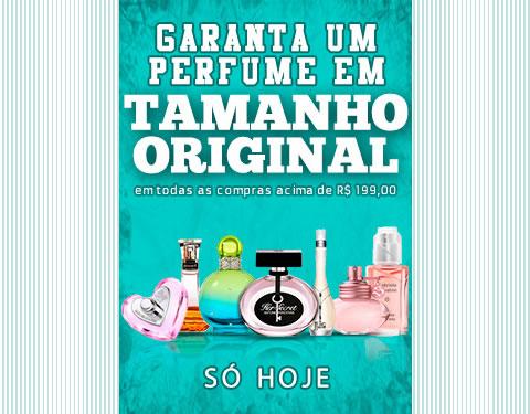 Ganhe perfume tamanho original nas compras acima de R$ 199,90 na Época Cosméticos