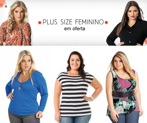 Moda Plus Size a partir de R$ 9,99 na Posthaus