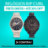 Relógios Rip Curl com 30% de desconto na Dafiti Sports