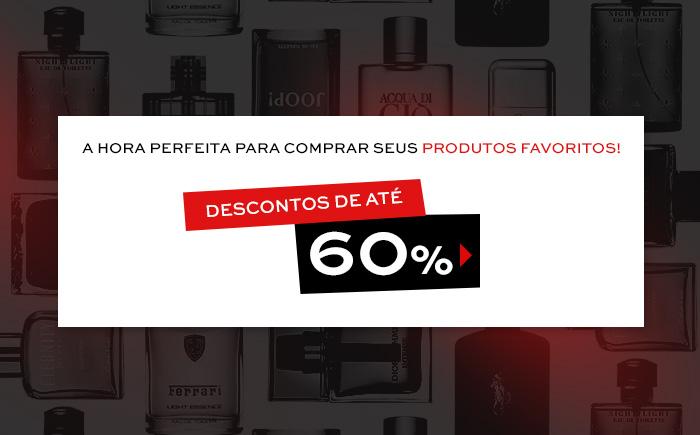 Sephora: Perfumes e muito mais com até 60% de desconto
