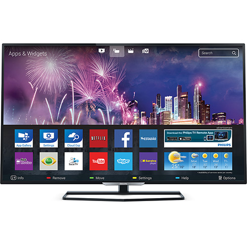 "Shoptime: Smart TV Philips LED 32"" 32PHG5509/78 por R$ 949,05 à vista"