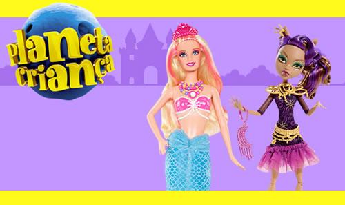 Barbie e Monster High com 20% de desconto na Americanas