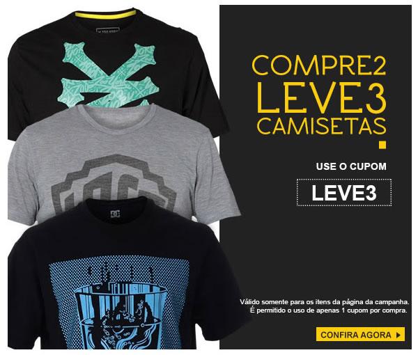 Compre 2 Leve 3 camisetas na Kanui