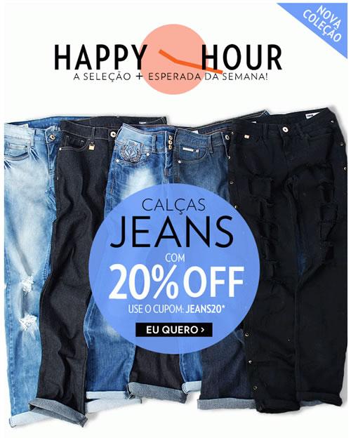 Cupom de desconto de 20% em Jeans na Lets