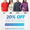 Netshoes: Desconto de 20% em roupas