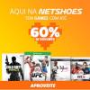 Netshoes: Games com até 60% de desconto