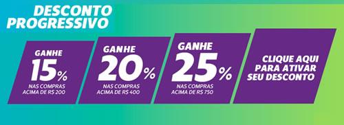 Só na Netshoes: Descontos progressivos de até 25%