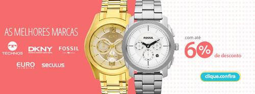 Relógios com até 60% de desconto no Walmart