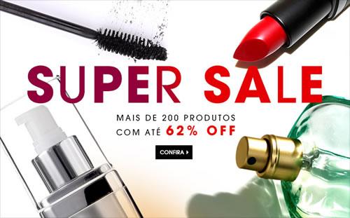 Sephora: Super Sale com até 62% de desconto