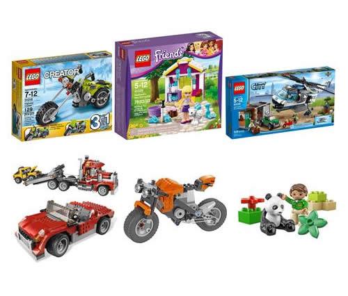 Seleção de Lego com 20% de desconto na Bebê Store