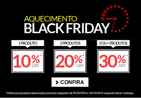 Aquecimento Black Friday na Dafiti Sports