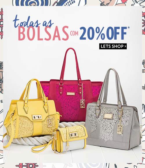 Lets: Todas as bolsas com 20% de desconto