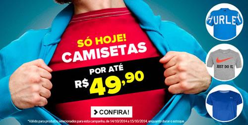 Dafiti Sports: + de 300 camisetas por até R$ 49,90 (cada)