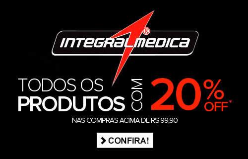 Dafiti Sports: Cupom de 20% em produtos Integralmedica