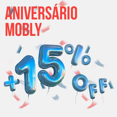 Mobly: Cupom de desconto de 15% + 10% pagando com Paypal