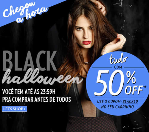 Lets: Cupom de 50% no Black Halloween