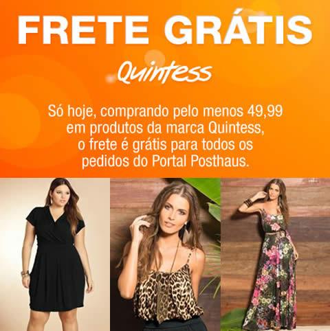 Posthaus: Frete grátis nas compras acima de R$ 49,99 em produtos Quintess