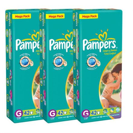 Promoção de fraldas Pampers no Kangoolu