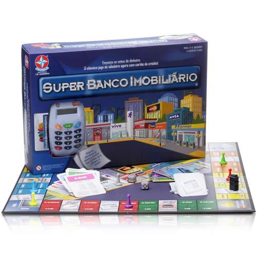 Walmart: Jogo Super Banco Imobiliário por R$ 119,91