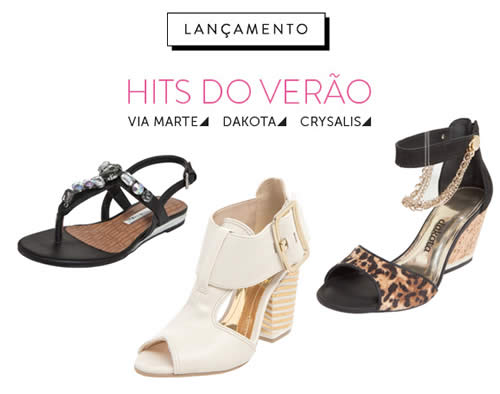 Hits do Verão: Via Marte, Dakota e Crysalis na Dafiti