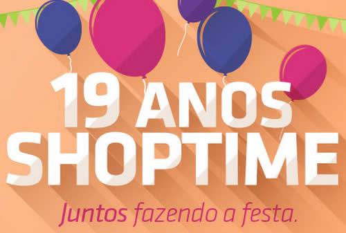 Aniversário Shoptime com até 70% de desconto