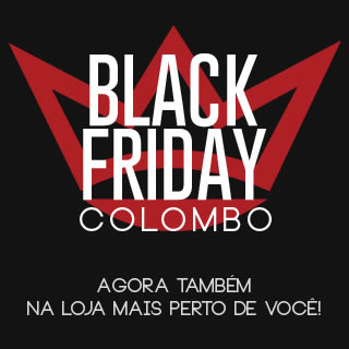 Black Friday na Camisaria Colombo