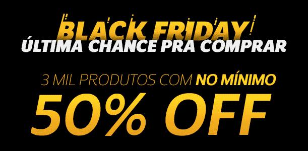 Black Friday Netshoes: Mais de 3 mil produtos com no mínimo 50% de desconto