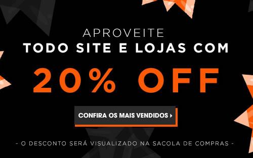 Black Friday Sephora com 20% de desconto em todo o site