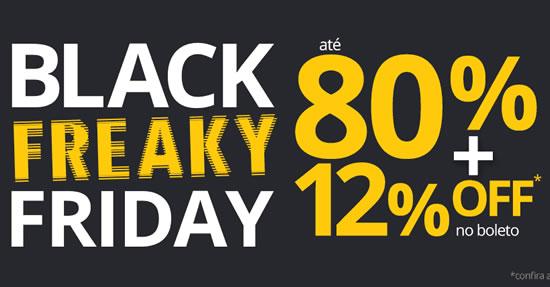 Black Friday Submarino com até 80% de descoto + desconto no boleto