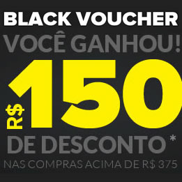 Black Voucher de R$ 150 na Dafiti Sports