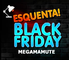 Esquenta Black Friday Megamamute: 10% OFF em todo o site via Paypal