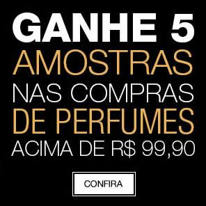 Renner: Ganhe 5 amostras nas compras acima de R$ 99 em perfumes