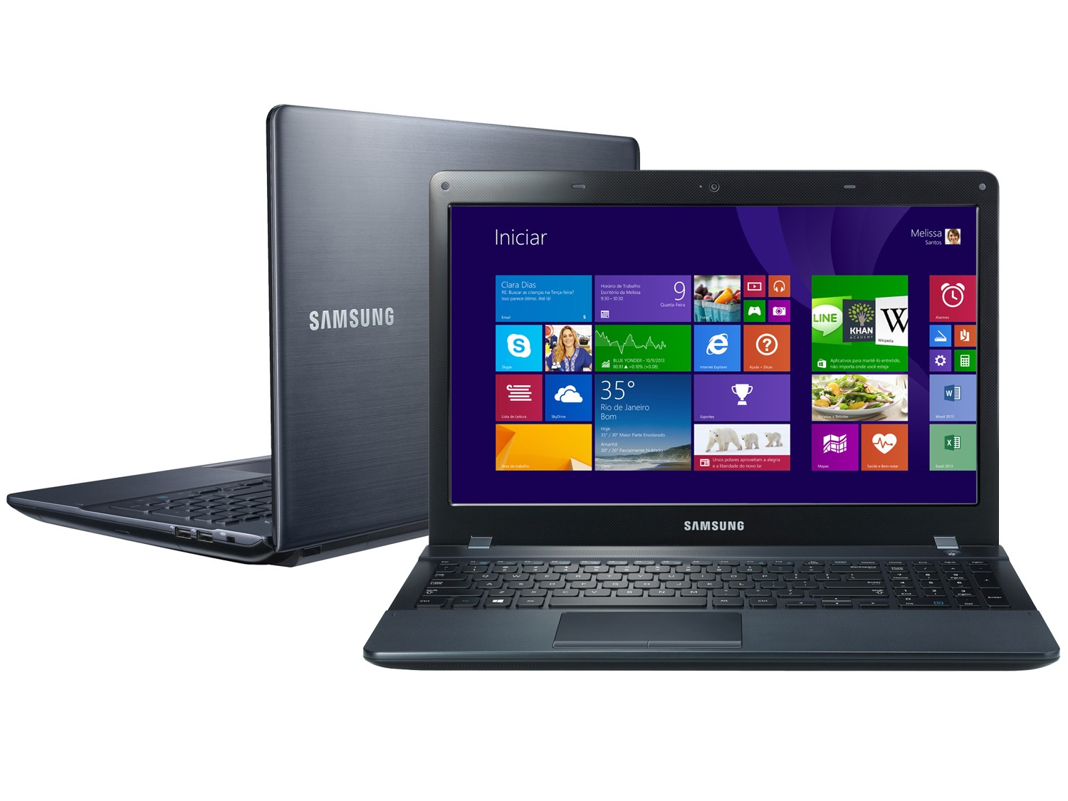 Notebook Samsung Ativ Book 2 com placa de vídeo de 2GB