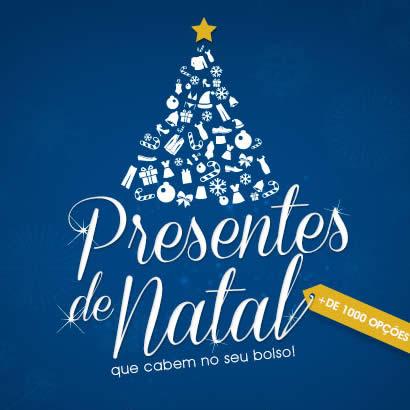 Presentes de Natal a partir de R$ 4,99 na Posthaus