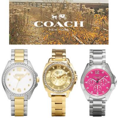 Vivara: Relógios Coach chegam ao Brasil