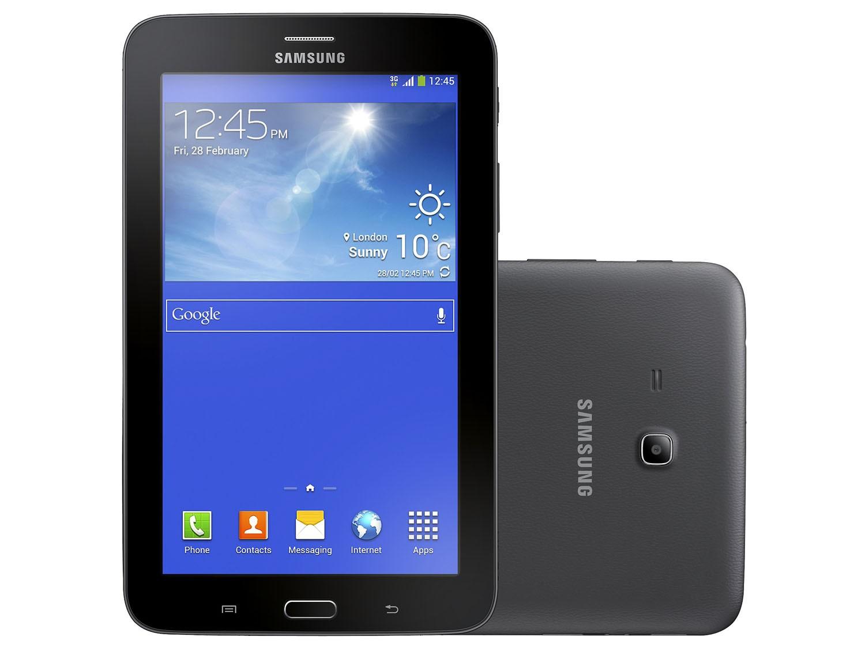 Relâmpago: Tablet Samsung Galaxy 3G por R$ 499 no Magazine Luiza