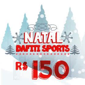 Natal Dafiti Sports: Cupom de desconto de R$ 150 pra você!