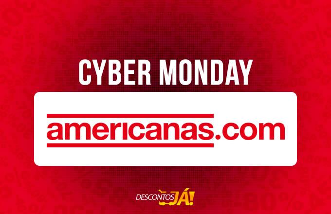 Cyber Monday Americanas c/até 80% off + até 12% off no boleto