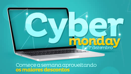 Cyber Monday Extra com até 60% desconto