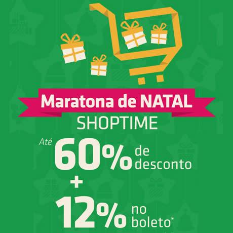 Shoptime: Maratona de Natal com até 60% de desconto