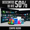 Ricardo Eletro: Saldão de TVs e Smartphones com até 50% de desconto