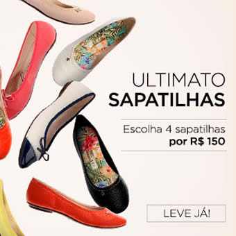 Zattini: 4 sapatilhas por R$ 150