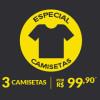 Promoção: 3 camisetas por R$ 99,90 na Dafiti Sports