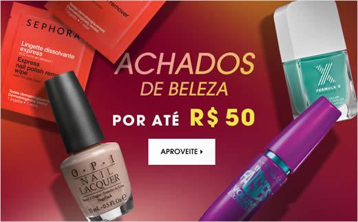 Achados de beleza por até R$ 50 na Sephora